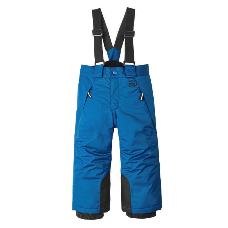 71de0cd93 ... 2018 New Baby Toddler Kids Ski Pants Warm Snowboard Trousers Waterproof  Girls Boys Overalls Winter Children ...