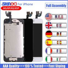 Full Assembly LCD Display Digitizer for iPhone 6 s Plus AAA Quality LCD Touch Screen for iPhone 6 6s 6plus 6splus No Dead Pixel 5pcs lot grade aaa quality no dead pixel for iphone 6 plus lcd touch display screen digitizer assembly free shipping of dhl