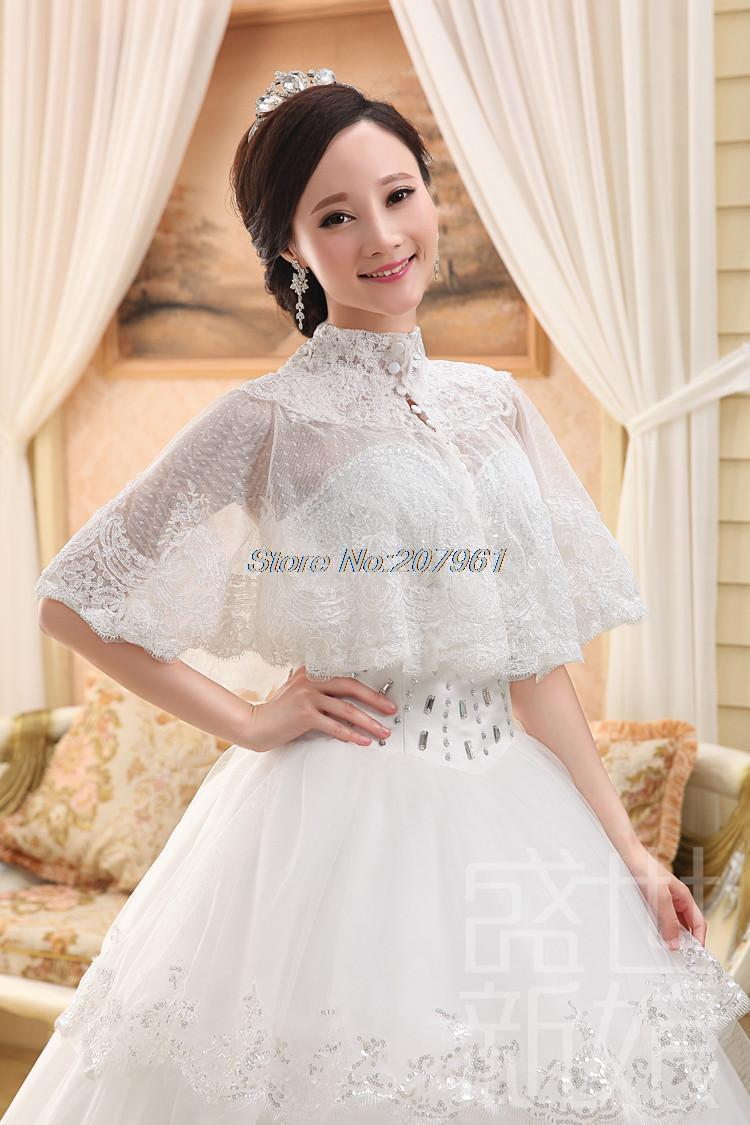Aliexpress buy hot fashion style white ivory lace bridal aliexpress buy hot fashion style white ivory lace bridal bridesmaid bolero jacketwrapshawl cape for wedding dress jb 20 from reliable cape modeling ombrellifo Images