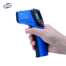 Best price New Non contact Digital Laser infrared thermometer GM531 -50~530C (-58~875F) 0.1-1.0 Adjustable IR Laser Point Gun Pyrometer