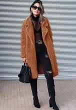 NiceMix 2019 plum-size autumn and winter lapel pocket long-sleeved blouse stylish slim warm ladies thick
