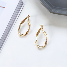 Earrings Fashion Women popular metal Minimalism, irregularity, fashion jewelry, earrings jewelry wholesale