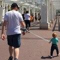 Anti-perdida niño con una cuerda elástica bebé anti alejó Superman no rayar las manos cuidado del bebé y accesorios de seguridad