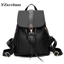 Hot New Casual Women Backpack Female oxford Women's Backpacks Black Bagpack Bags Girls Casual Travel Bag back pack