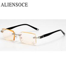 Высококачественные очки для чтения Алмазная резка стекла прозрачные Анти-усталость пресбиопические очки+ 1,0+ 1,5+ 2,0+ 2,5+ 3,0+ 3,5+ 4,0