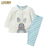 2 7 Years Old Cotton Children Clothing Kids Girls Clothes Sets Long Sleeve T Shirt Leggings