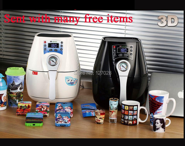 High Quality Mini 3D Sublimation Vacuum Heat Press Machine Heat Press Printer For Mugs Printing ST-1520 C2 Version