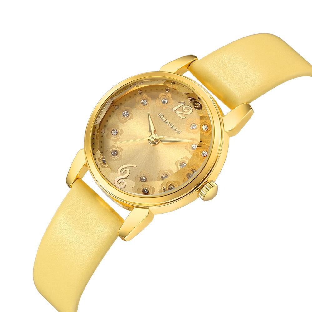 2017 Fashion New Luxury Rhinestone Watches Women PU Leather Quartz Bracelet Watch Ladies Dress Watches Gold Clock relogios feitong fashion dress watches women female models thin pu leather belt rhinestone quartz wristwatch relogios femininos hombre