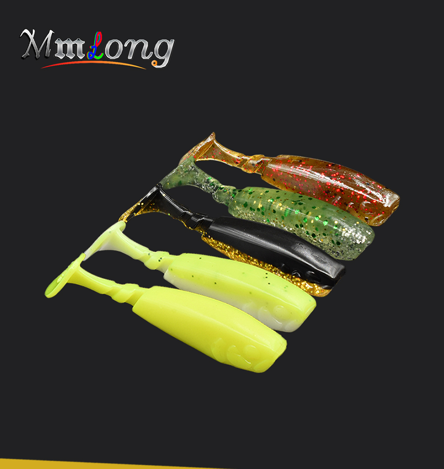 Silicone fishing lure soft bait wobblers kit 01