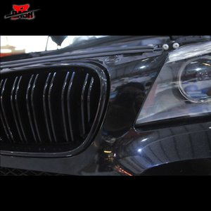 Image 5 - DASH for BMW F25 X3 Pre LCI Front Grille Dual Slat Black 2010 2013