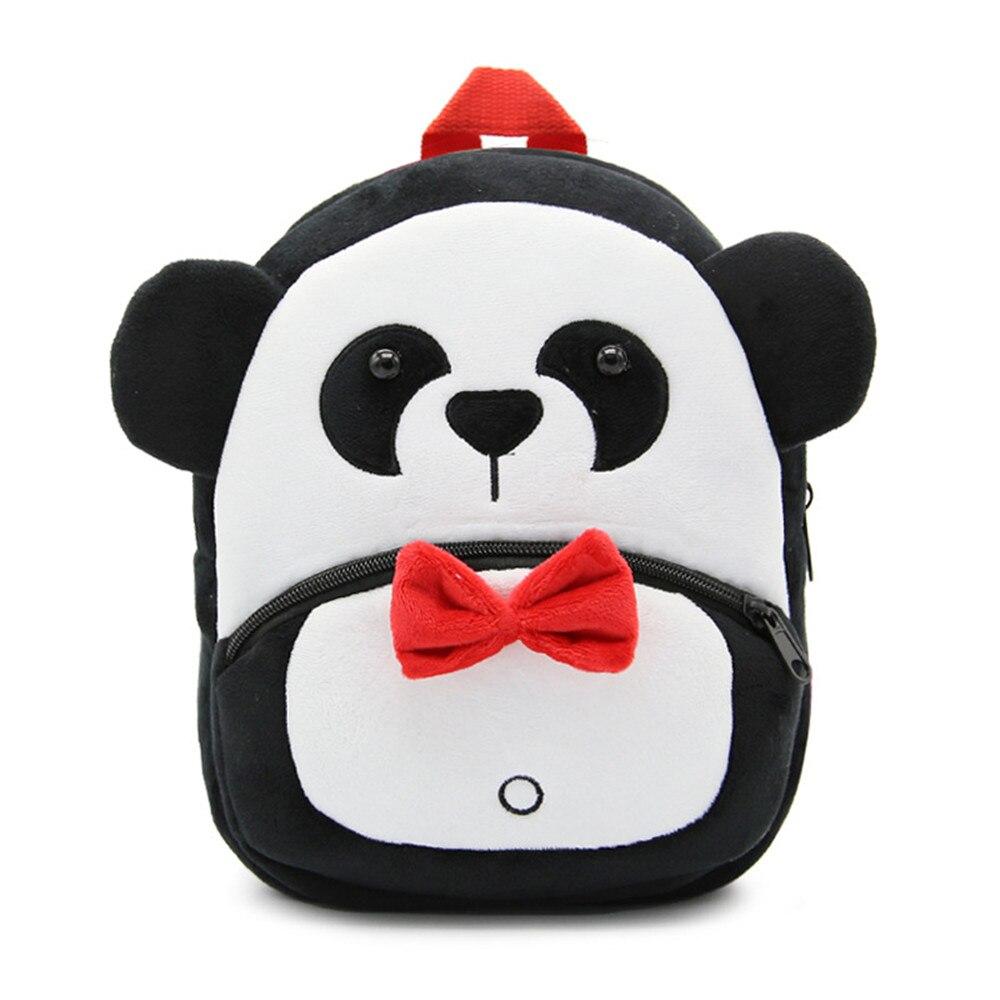Zshop Cute Animal Backpack Panda Schoolbag for 1 to 3 Year Old Kids Shoulder Bag