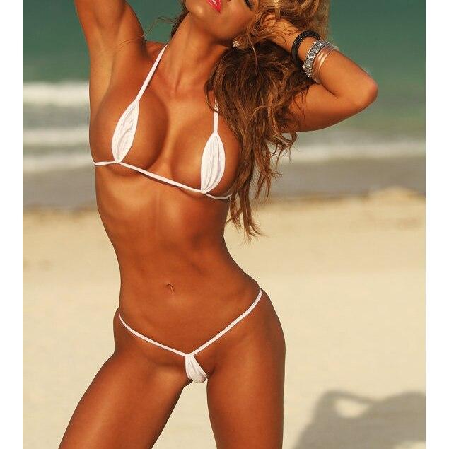 Micro Bikini//monokini blanc