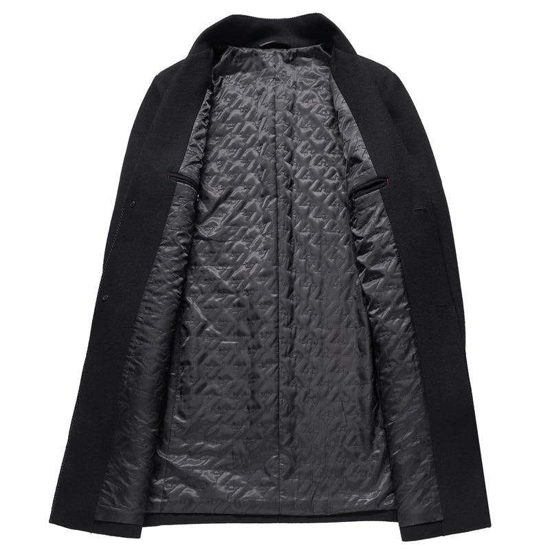 Nouveaux 3xl Mince Vêtements Haute D'affaires Hommes Kolmakov Printemps Noir Pardessus Homme Manteau 2019 Tranchée La Qualité ardoisé Laine Manteaux Mode De WUIWn46fZ1