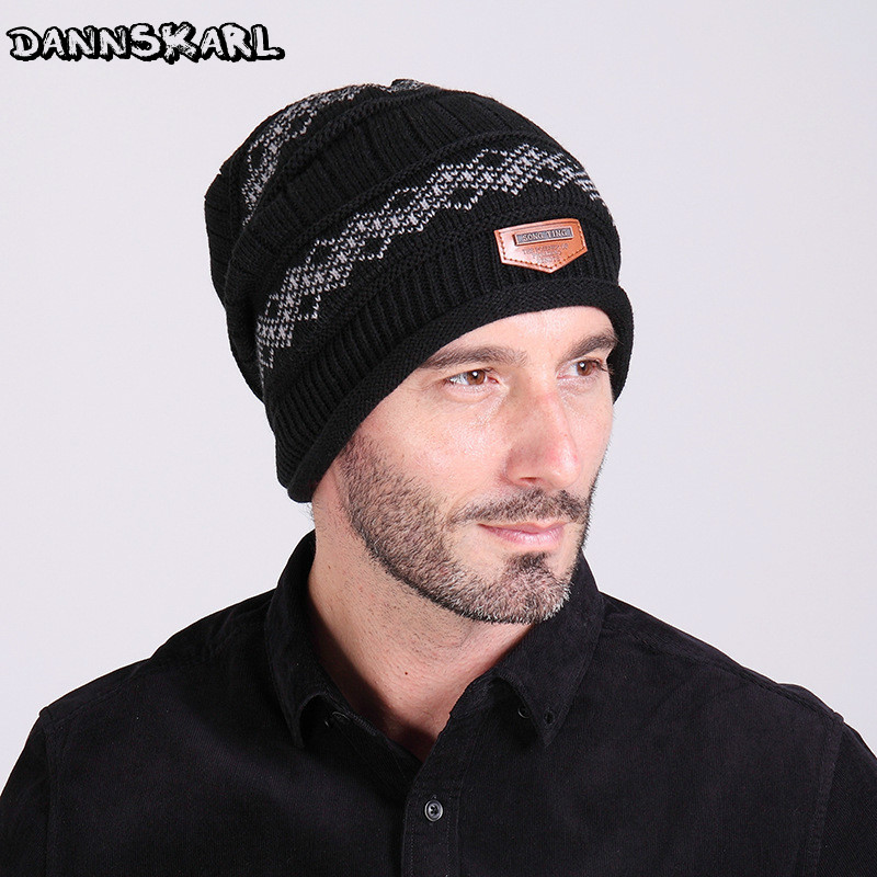 2016 Brand Beanies Knit Men's Winter Hat Caps Skullies Bonnet Winter Hats For Men Women Beanie Fur Warm Baggy Wool Knitted Hat brand skullies winter hats for men bonnet beanies knitted winter hat caps beanie warm baggy cap gorros touca hat 2016 kc010