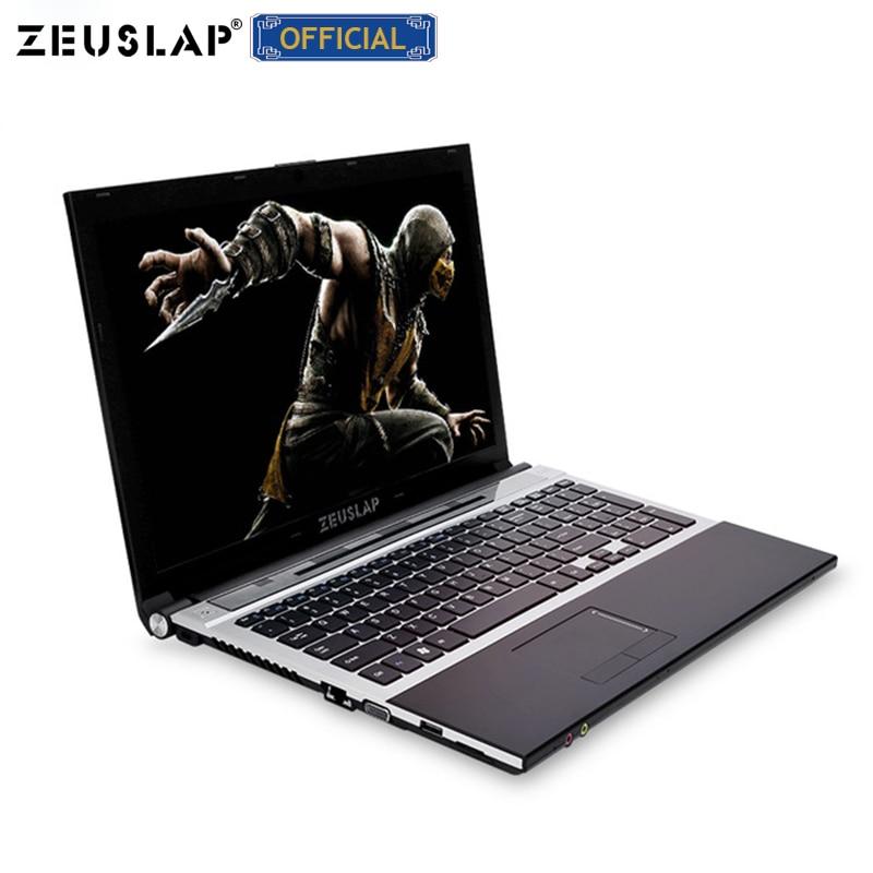15.6 polegada intel core i7 8 gb de ram com Janelas ssd e hdd dual discos 10 sistema 1920x1080 p completa hd Notebook PC Computador Portátil