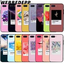 цена на WEBBEDEPP Color Pantone Soft Case for Huawei Honor 6 7A Pro 7C 8C 7X 8X 8 9 10 lite Note10
