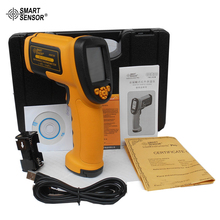 Sale High Precision Laser Infrared Industry Thermometer with Bigger Temperatuer Range Smart Sensor AS872D
