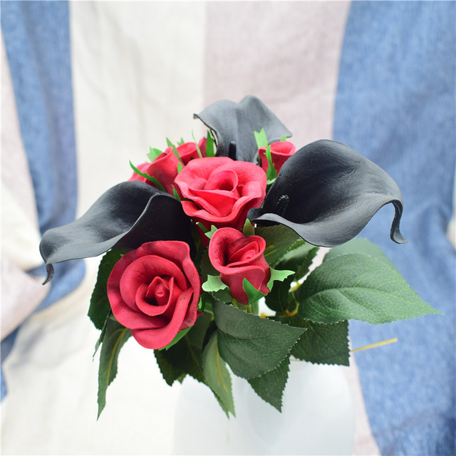 10stems Real Touch Flowers For Wedding Bouquets, Centerpieces ...