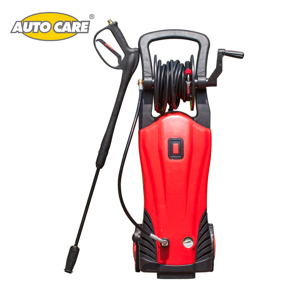 AutoCare 1740 psi Electric Pressure Washer 2400 w 120 bar Nozzles Spray Gun Detergent Bottle High Pressure Hose Induction motor ...