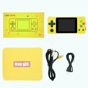 Image 5 - LDK game 2.6inch Screen Mini Handheld Game Console Nostalgic Children Retro game Mini Family TV Video Consoles