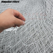Nylon Fishing Nets fishing trackle Collapsible Rhombus Mesh Hole 3Sizes Depth Folding Dip Net all for fishing products 1pcs/lot