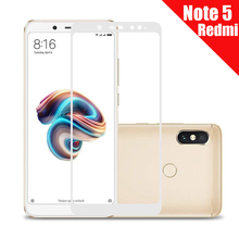 HD Screen Tempered Protective Glass for Xiaomi Redmi Note 5 Pro 5A Protect Full