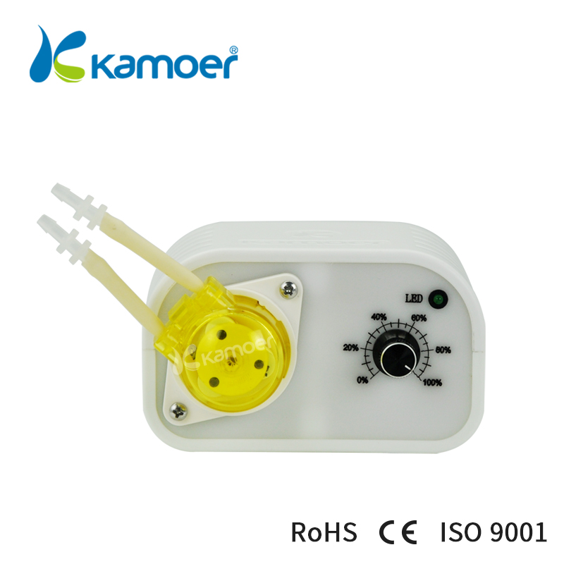 Kamoer NKCP4 peristaltic pump mini dosing pump 24V micro dispensing filling machine adjustable flow kamoer kcp pro lab chemical dosing pump peristaltic pump micro water pump 24v electric pump with flow rate adjustable