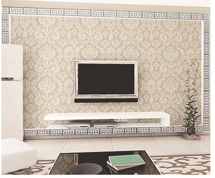 Online Shop 10Pcs/lot 10x10cm Geometric Mirror Like Reflective Wall Border  Sticker For Bedroom Living Room Dining Hallway Decor E9 | Aliexpress Mobile Part 72