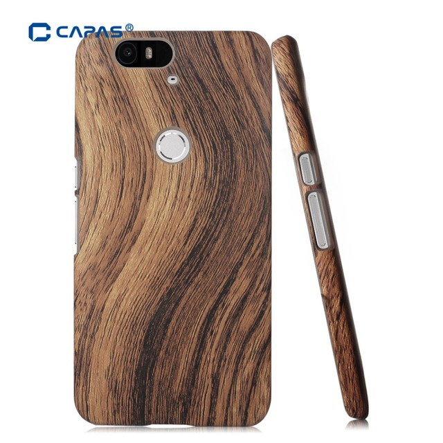 newest ef569 e72b2 US $4.99  For Huawei Nexus 6P Case Fashion Wood Wooden Pattern Ultra Thin  Hard Cover for Google Nexus 6P Phone Cases Protective Shield-in  Half-wrapped ...