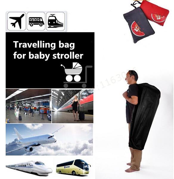 Bayi kereta dorong kereta kanak-kanak penyimpanan beg simpanan beg perjalanan ransel tompokan beg debu beg pemeriksaan