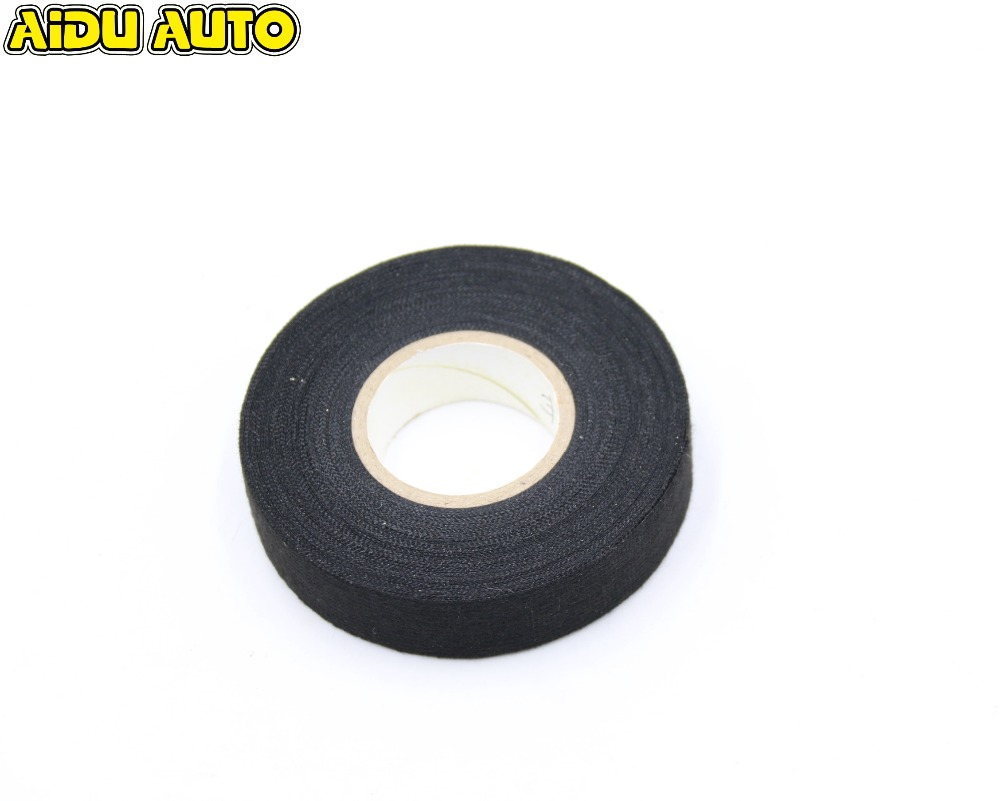 Free Shipping Car Wiring Harness Cloth Fabric Automotive Tape For VW Car Motorcycle in Cables Adapters Sockets from Automobiles Motorcycles