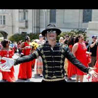 Michael Jackson Sequined Suit Jackets Men's Singer Sequined Singer Stage Costume Nightclub Bar Male DJ Dance Wear Blazers Coat