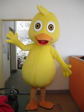 Yellow Duck Mascot Cartoon Character Mascot Costume Fancy Outfit Party Dress Adult size
