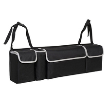 Автомобиль органайзеры для багажника резервная сумка для хранения высокой емкости многократное использование Ткань Оксфорд назад интерьерные аксессуары авто Органайзер коробка