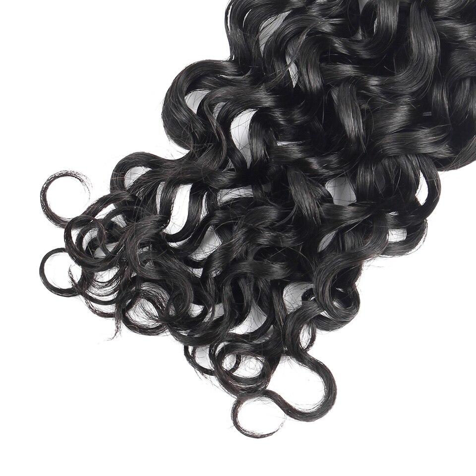 YVONNE cheveux brésiliens bouclés italiens armure paquets 3 pièces vierge cheveux humains armure couleur naturelle 8-28 pouces livraison gratuite - 6