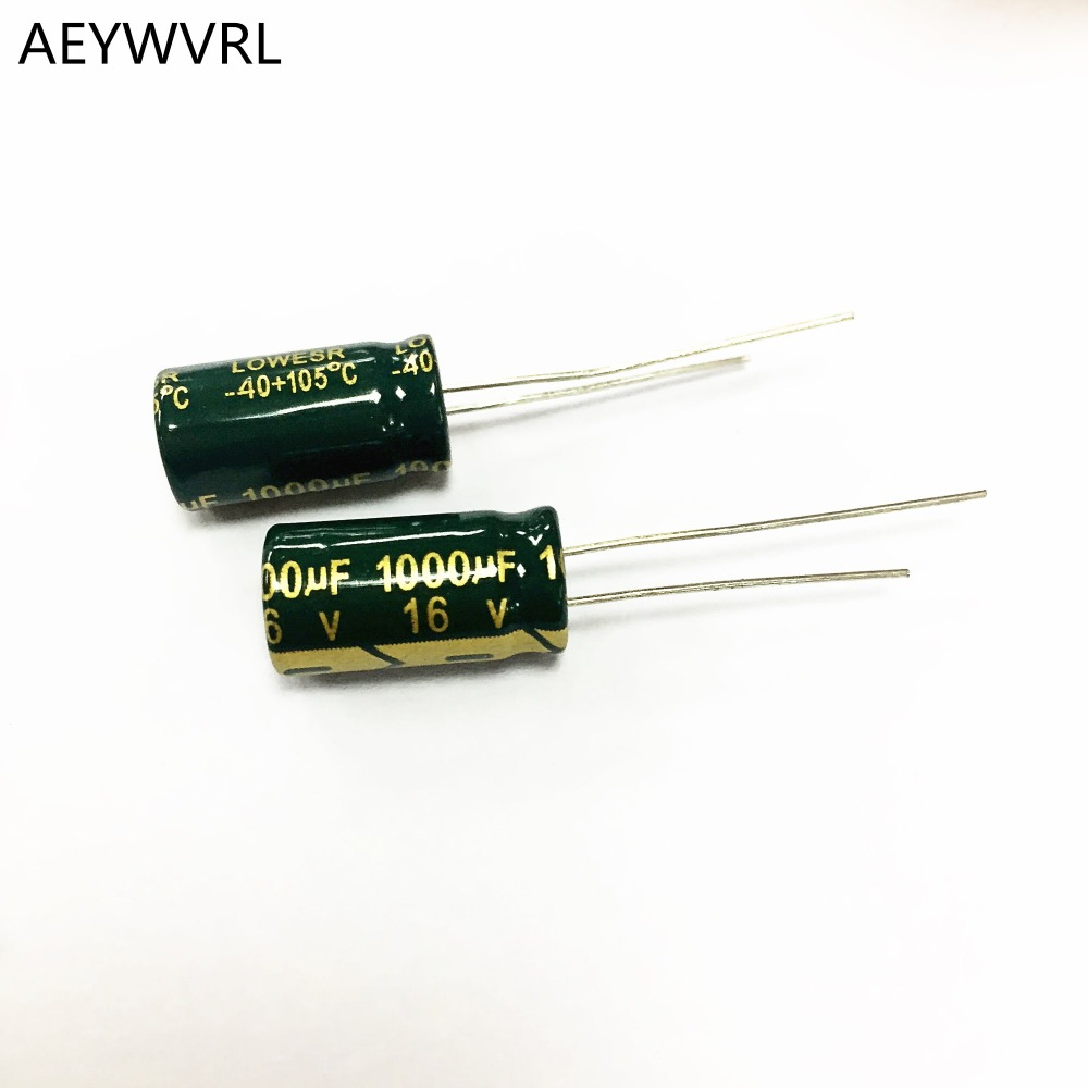 680uf 50v Electrolytic Radial Capacitor 105c Low Esr