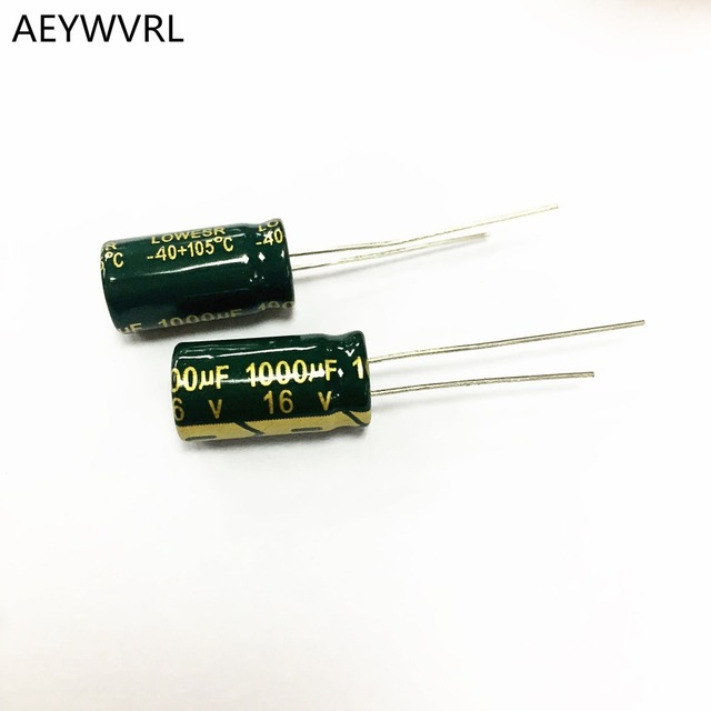 10 Pieces 10uF 100v Electrolytic Radial Lead Capacitor