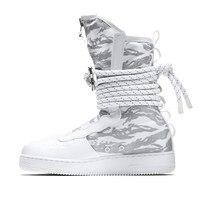 Nike SF Air Force 1 обувь для скейтбординга Мужская Tiger стиль с высоким вырезом уличная спортивная обувь на шнуровке удобные кроссовки AA1130