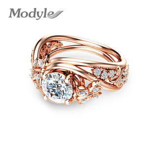 Modyle Stone Rings for Women Jewelry Wedding Ring