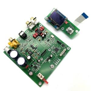Image 5 - Lusya ES9038 Q2M I2S DSD Decoder Coaxial Fiber input DAC decoding board For hifi amplifier audio F7 003