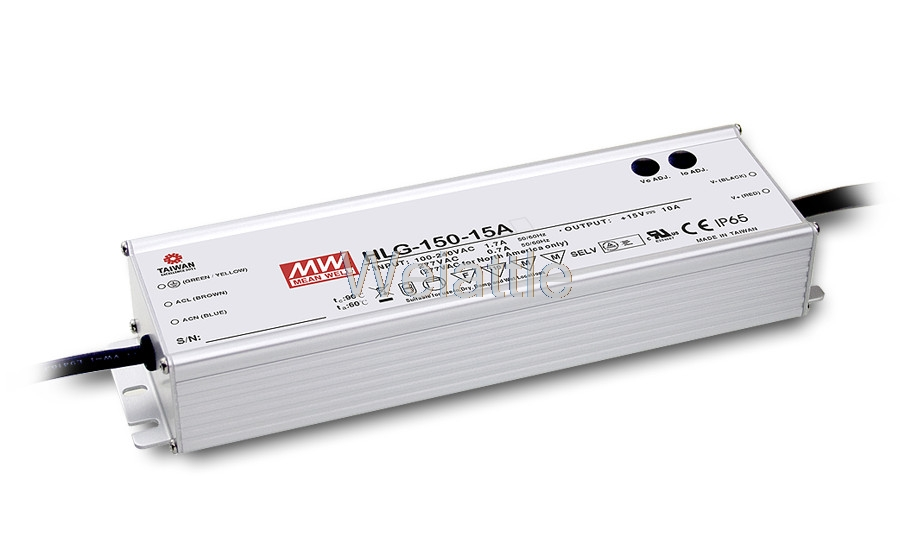 MEAN WELL original HLG-150H-48B 48V 3.2A meanwell HLG-150H 48V 153.6W Single Output LED Driver Power Supply B type advantages mean well hlg 150h 24b 24v 6 3a meanwell hlg 150h 24v 151 2w single output led driver power supply b type