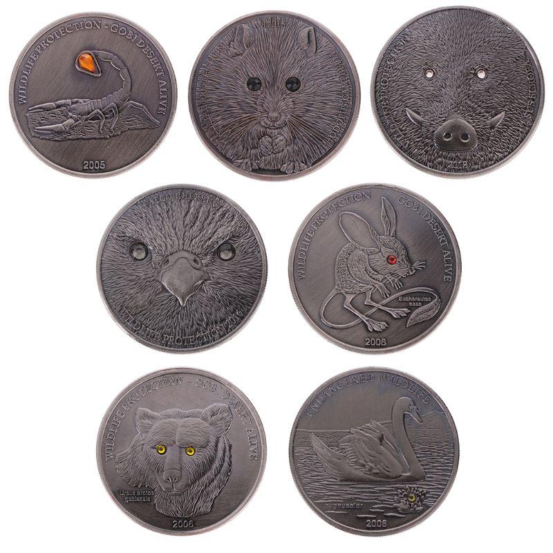 Home Decor Souvenir Copy Coins Collectibles Drill Animal Copy Coin Memorial Coin