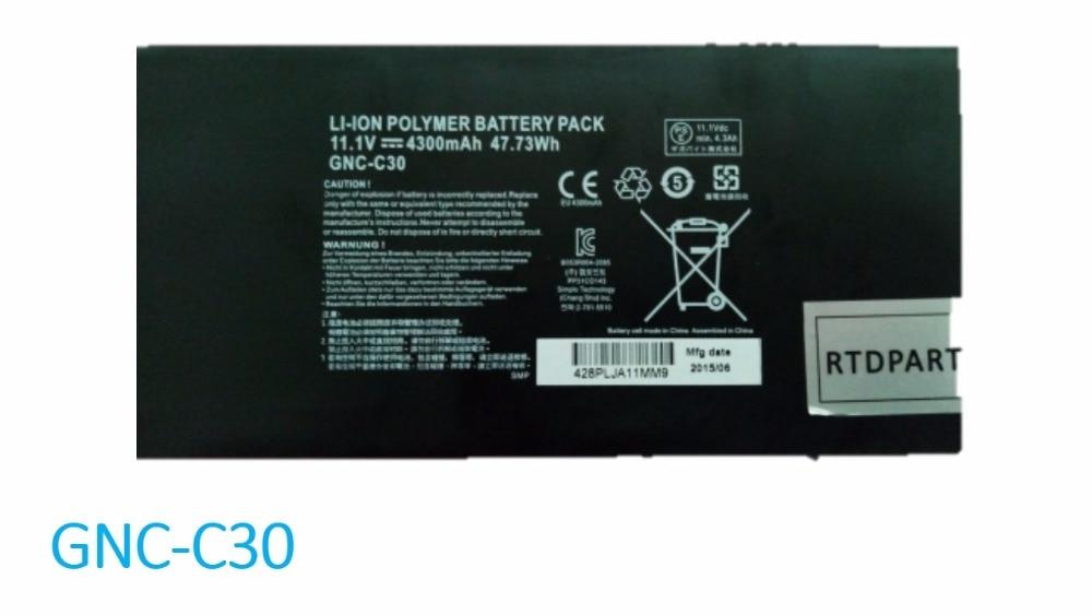 Laptop Battery For Gigabyte P34W V3 V4 V5 P34G V2 V7 P34F V5 P34K GNC-C30 11.1V 47.73WH/GNC-J40 916TA013F 15.2V 4030mAH 61.25WH gnc 300mg 100