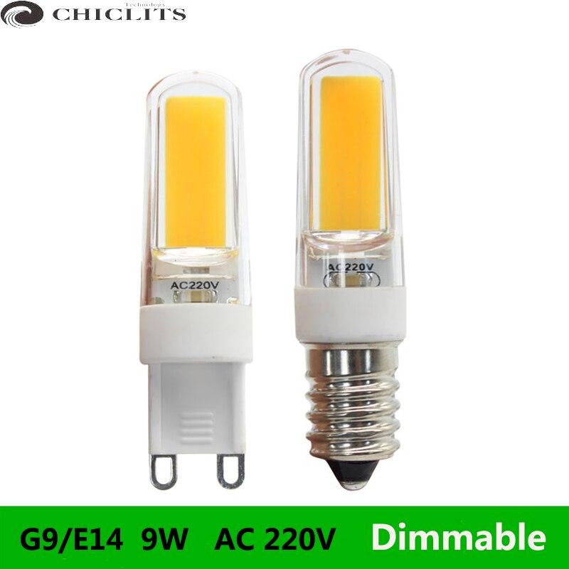 Buy g9 cob chandelier led lamp bulb for Lampadine g9 led