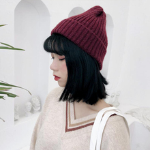 2019 New Winter Hats For Women Men Skullies Beanies Women Fashion Warm Cap Unisex Elasticity Knit Beanie Hats High Quality 2016 ali express new brand quality cotton spring hats double layer fashion star women men beanie unisex free shipping