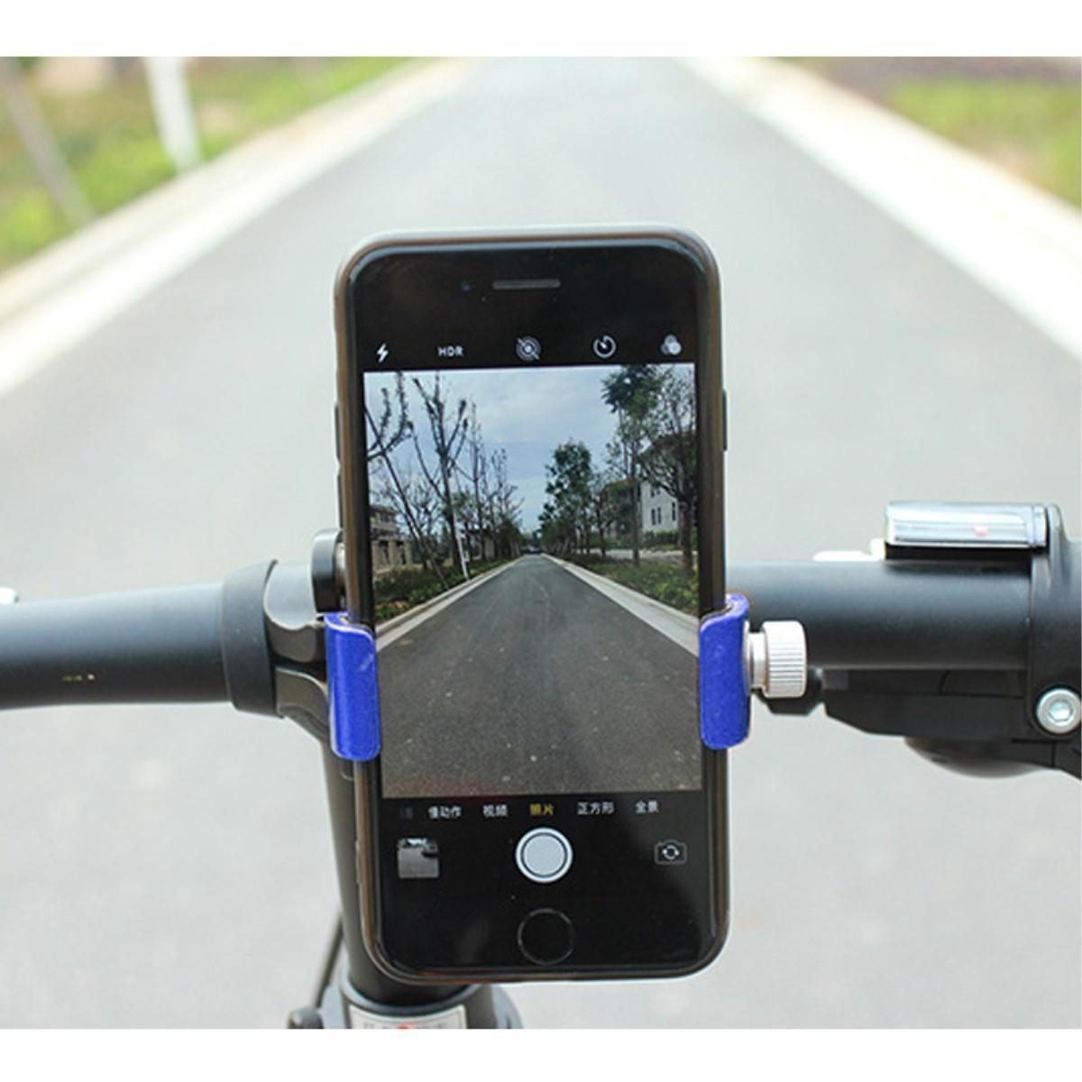 Купить с кэшбэком DUUTI 3-7inch Aluminium Alloy Mount Bracket  Bike Adjustable Phone GPS Mount Holder Anti-Slip for Motorcycle Bicycle Accessories