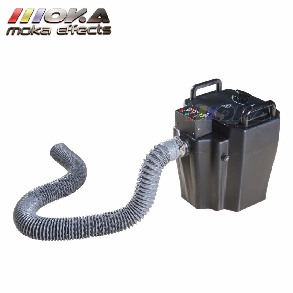 2 Pcs/lot Dry Ice Low Lying Fog/Smoke Machine 3500w dry ice machine smoke maker fogger machine Cover 200m2 for wedding big show