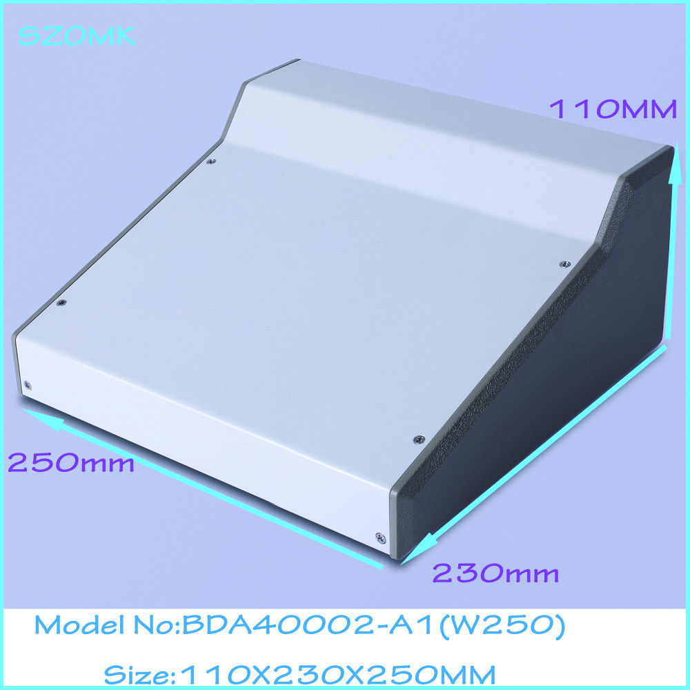 (1pcs )110x230x250mm steel metal enclosure for electronics control box aluminum boxes electronics control enclosure intergrated electric control box small cooling device replace eliwell or dixell cold room control boxes