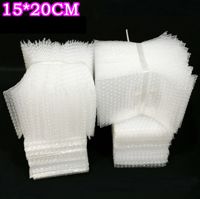 15*20cm  100pc  Small Bubble Wrap Bag, Letter Organizer Mailers Padded Shipping Envelope With Bubble Mailing Bag