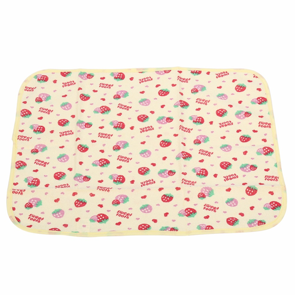 5 Types Newborn Baby Changing Urinal Pad Cover Infant Child Bed Waterproof Cotton Cloth Diaper Inserts Changing Mat 3 size